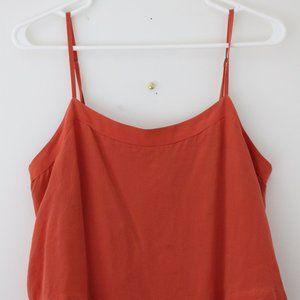 Madewell Silk Midi Dress